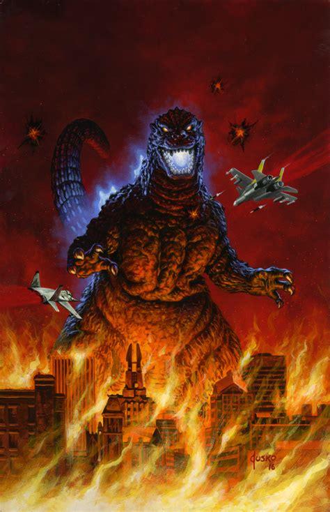 Godzilla!! By Joejusko On Deviantart