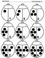Bug Ladybugs Coccinelle Preschoolers Coccinelles Escargot Squish Numeral Apprentissage Demoiselle Scaffolding Compter Memespp Squishideasforpreschool Titren sketch template