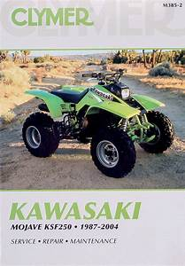 Clymer Repair Manual For Kawasaki Mojave Ksf250 1987