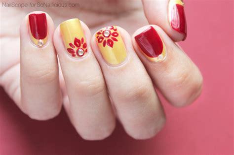 thailand inspired nail art tutorial