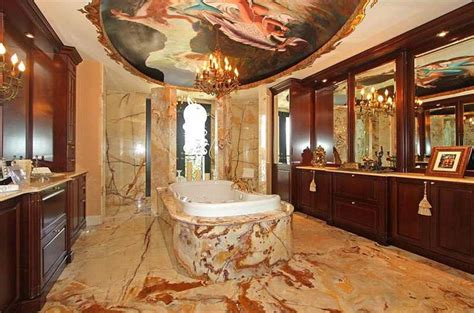 sale  mansions  insanely luxurious bathrooms