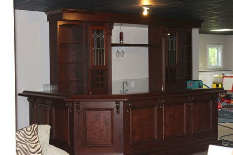 Custom Built Home Bars by Custom Built Home Bar Basement Pub Ebay