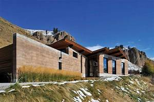 Home On Earth : modern earth a rammed earth house in wyoming ~ Markanthonyermac.com Haus und Dekorationen