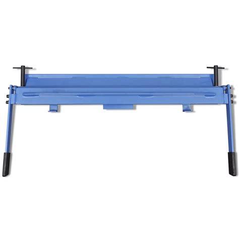manually operated sheet metal folding machine 1000 mm