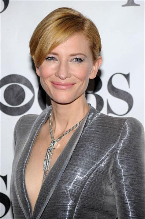 Cate Blanchett   Hollywood's Best Very Short Short Hair