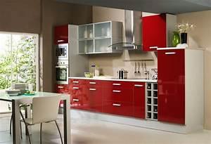 awesome deco maison cuisine moderne gallery lalawgroup With amazing idee de decoration de jardin 9 cuisine formica rouge