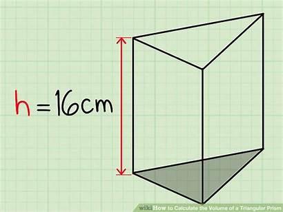 Prism Triangular Volume Calculate Formula Step
