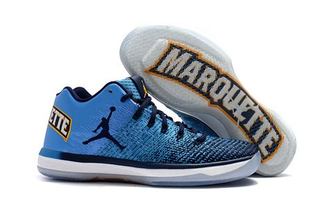 Nike Air Jordan Xxxi Low Blue White Men Basketball Shoes