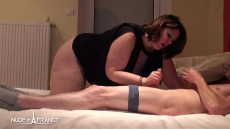 Nude In France Lovely Busty Bbw Claire Barre Spread Legs