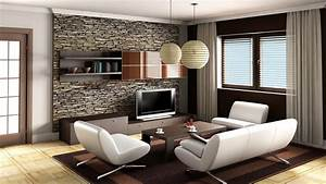 Unique Living Room Wallpaper For Your Small Home Remodel ...