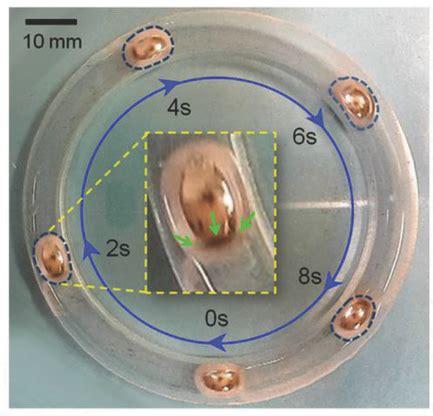 shape shifting liquid metal   propel