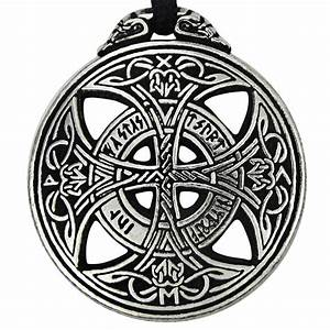 Large Rune Love Amulet Pewter Celtic Knot pendant jewelry ...