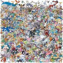 all pokemons fanart