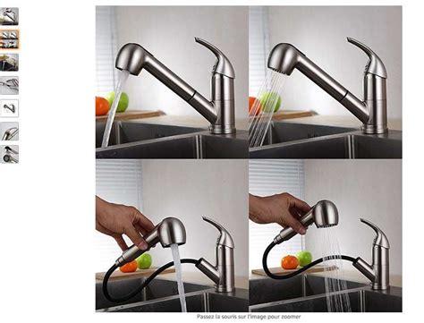 bon plan cuisine pas cher 65 99 robinet mitigeur de cuisine avec douchette