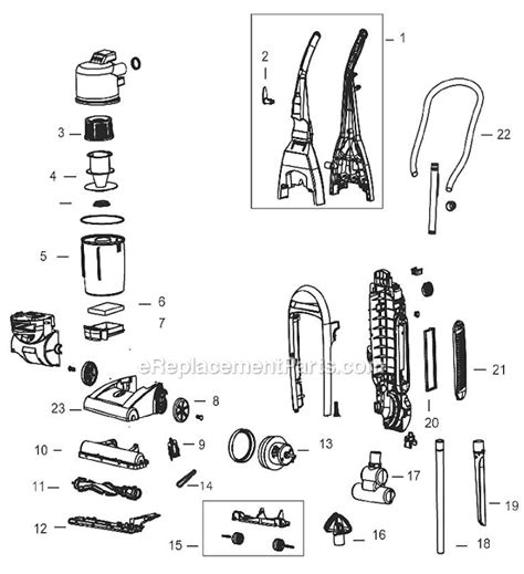 Bissell Parts List Diagram Ereplacementparts