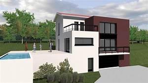 cout construction maison terrain en pente With good creer plan de maison 8 maison contemporaine sur un terrain en pente