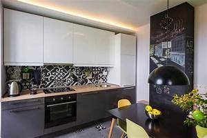 petite cuisine creative aux influences modernes With petite cuisine ouverte design