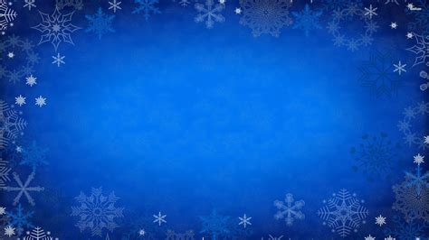 Blue Snowflake Background by Winter Snowflakes Wallpaper 42 Images
