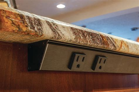 Kitchen Island Electrical Outlet - task lighting angle power strip jlc online kitchen electrical wiring and cable task lighting