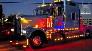 Kenworth Semi Truck Showing Lights Semitruckgallery Com