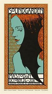 Soundgarden Mastodon Poster Chuck Sperry