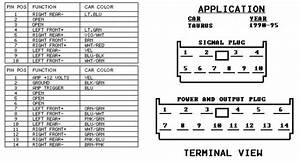 1997 Ford Taurus Wiring Diagram Stereo