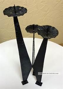 Kerzenständer Hoch Metall : kerzenst nder metall eisen ddr kunstgewerbe gebrauchsgegenstand dekoration ~ Indierocktalk.com Haus und Dekorationen