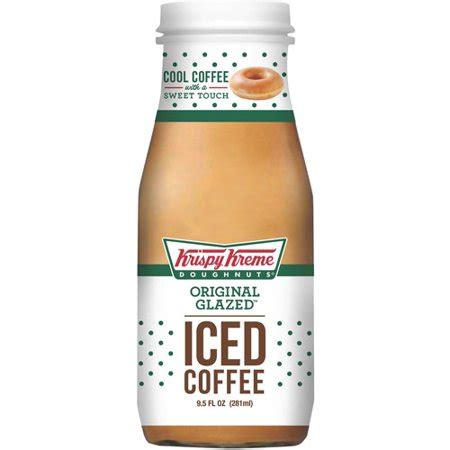 When available, we provide pictures, dish ratings, and descriptions of each menu item and its price. Krispy Kreme Original Glazed Ready to Drink Iced Coffee, 9.5 Fl. Oz. - Walmart.com