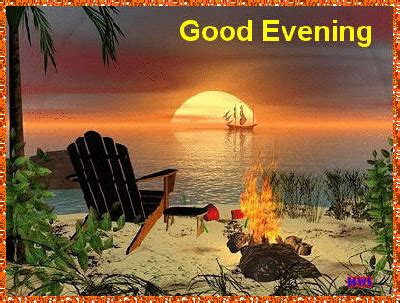 beautiful good evening animated gif pictures