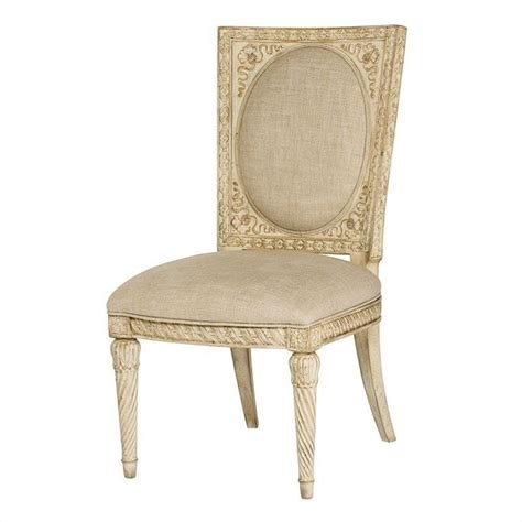 american drew the boutique dining chair in white veil