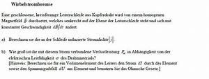 Magnetischen Fluss Berechnen : wirbelstrombremse ~ Themetempest.com Abrechnung