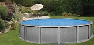 Piscine Hors Sol Metal : belle piscine ronde hors sol ~ Dailycaller-alerts.com Idées de Décoration