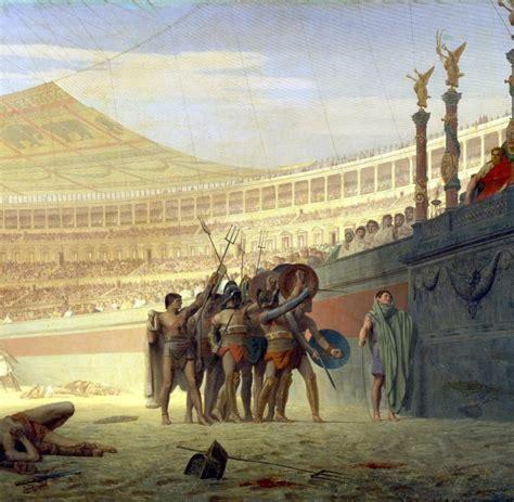 gladiatoren  blutig mochten es nur die roemer  der