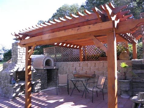 The Szymski Family Wood Fired Brick Pizza Oven And
