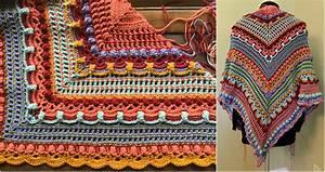 Crochet Charts Lost In Time Crochet Wrap Free Pattern