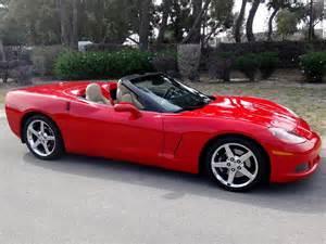 2005 Chevrolet Corvette Convertible Red