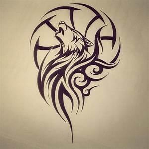 Tribal Wolf Tattoo : 28 striking tribal tattoos for the tattoo lovers godfather style ~ Frokenaadalensverden.com Haus und Dekorationen