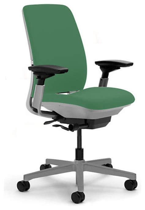 steelcase amia task chair platinum base w arms soft