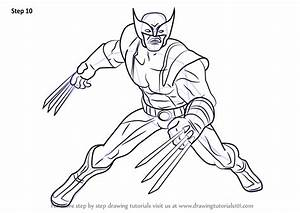 Learn How To Draw Wolverine From Marvel Contest Of