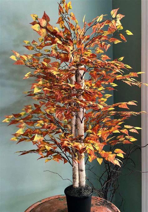 thora faux birch bushmedium birch tree large