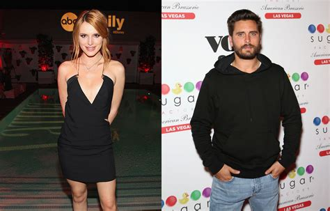 bella thorne hangs   scott disick  girlfriend