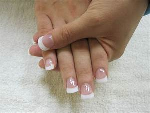 9 Pink And White Acrylic Nail Designs Images - Pink and ...