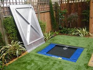 hidden trampoline floral hardy london uk With built in floor trampoline