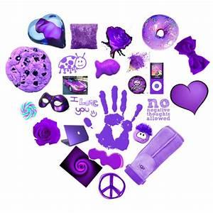 Random Purple Things - Polyvore