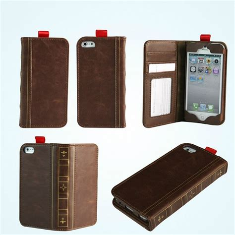 iphone 5 wallet for iphone 5 vintage wallet book from gizmo prlog