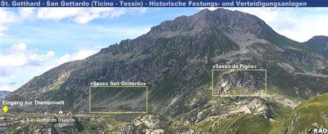 Sasso San Gottardo Bei Airolo by Raonline Edu Erlebnis Geschichte Historische Festungen
