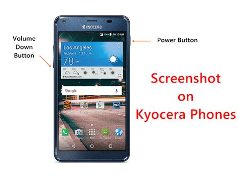 screenshot android phone how to take screenshot on kyocera android phones