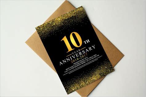 restaurant anniversary invitation designs templates