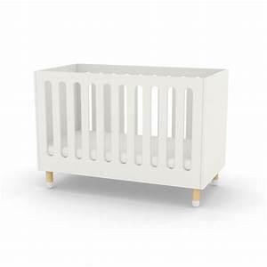 Lit Bebe Blanc : lit b b barreaux blanc flexa play pour chambre enfant les enfants du design ~ Teatrodelosmanantiales.com Idées de Décoration