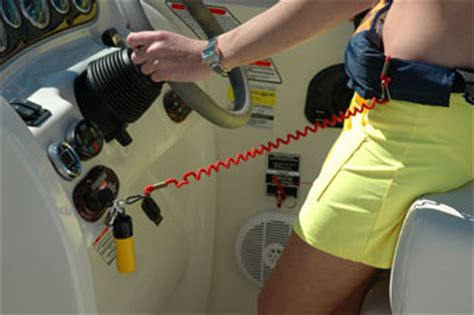 Boat Kill Switch Problems by History Of Lanyard Kill Switches For Recreational Boats